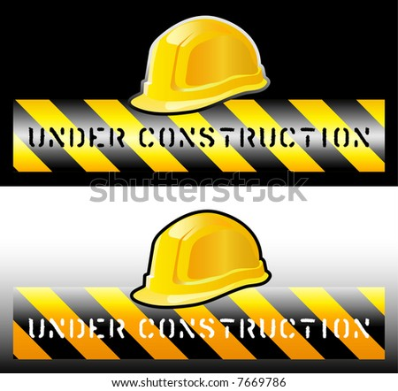 vector sign for the construction works