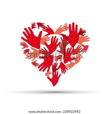 vector sign help my heart