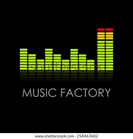 vector sign music factory