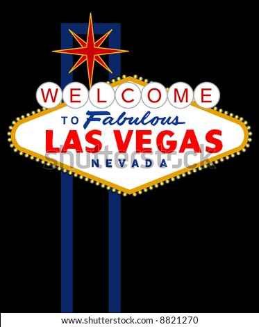 vector sign of las vegas