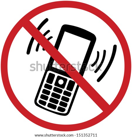 please turn off your cell phone sign f7228 by safetysign com