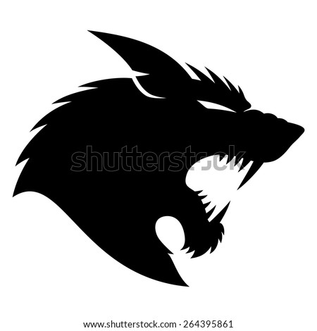 vector sign werewolf