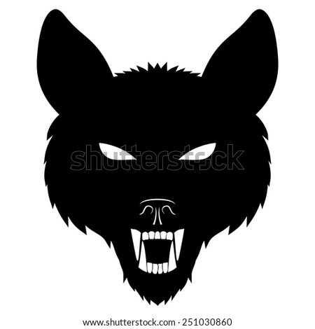 vector sign wolf