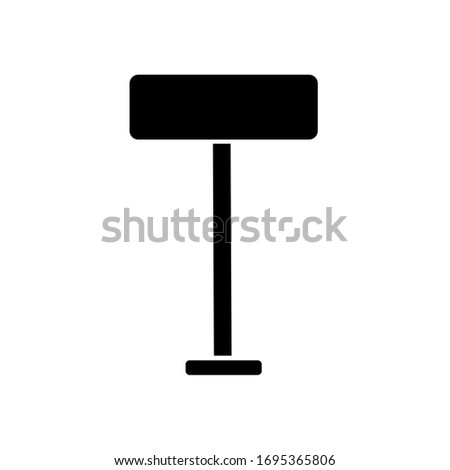 vector signpost icon. Eps. 10.