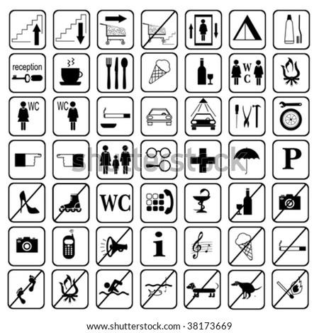 Kampat On Vacation Airport Signs And Symbols