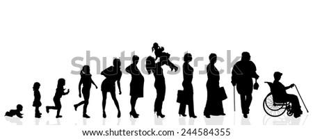 vector silhouette generation
