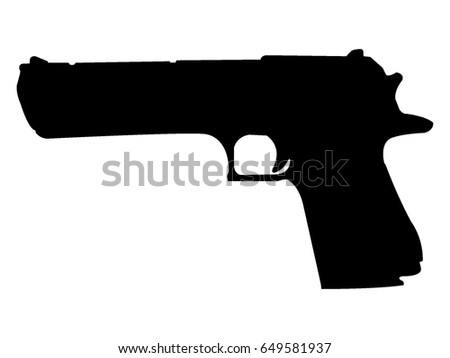 vector silhouette of military