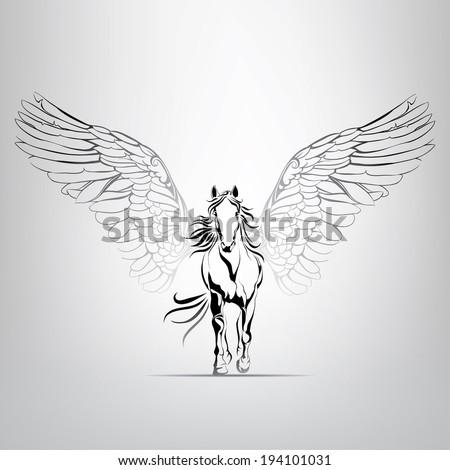 vector silhouette running