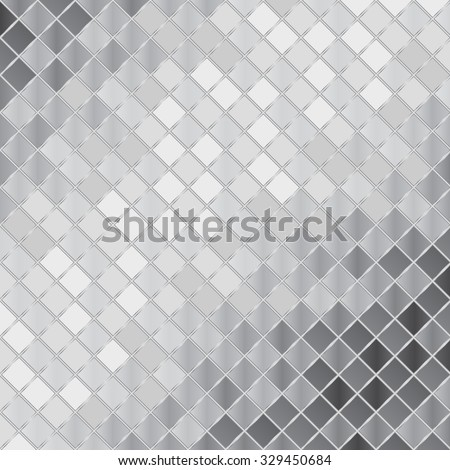 vector silver mosaic background