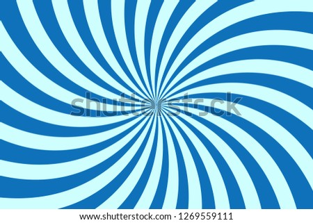 stock-vector-vector-simple-blue-background-spiral-stripes-in-retro-pop-art-style