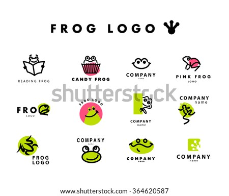 vector simple flat logo with