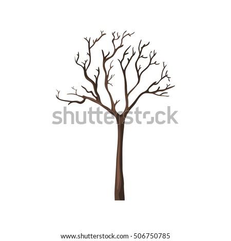 vector single cartoon brown