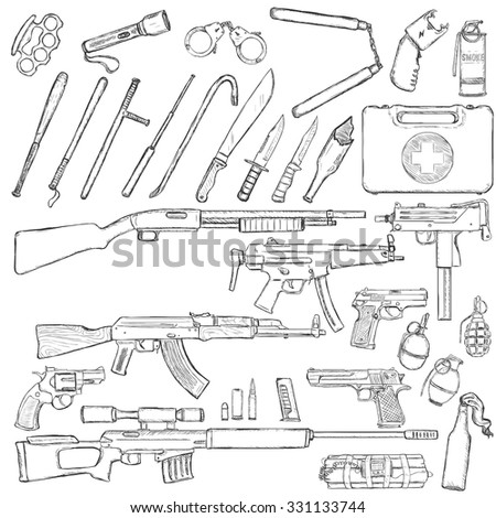 vector sketch big set of