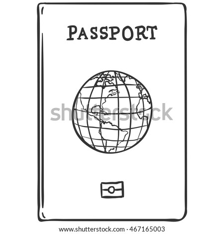 Vector Sketch Passport