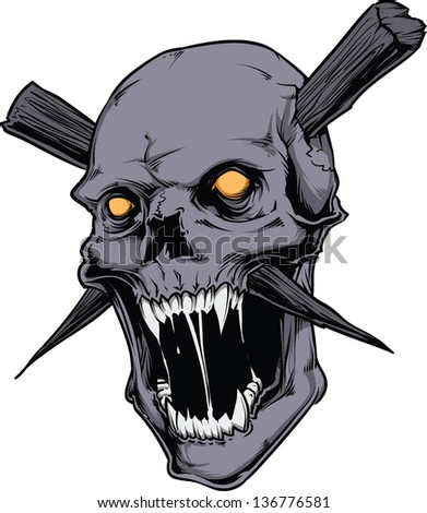 Vector Skull artwork
