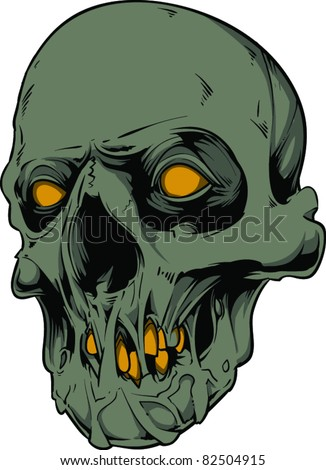 Vector skull illustration