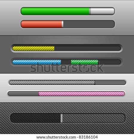 Vector Slider Bars #2