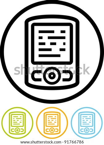 Vector smart phone icon