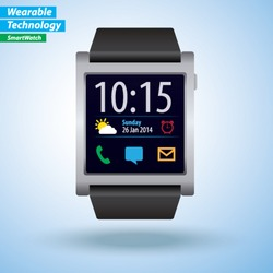 Vector Smartwatch - Wearable Technology