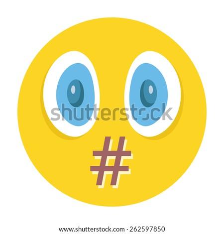 vector smiley moderation