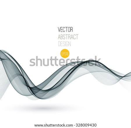 vector smoke abstract template