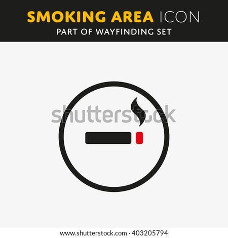 vector smoking icon cigarette