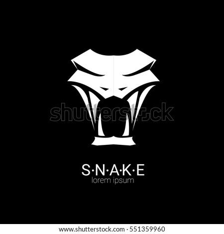 vector snake logo template