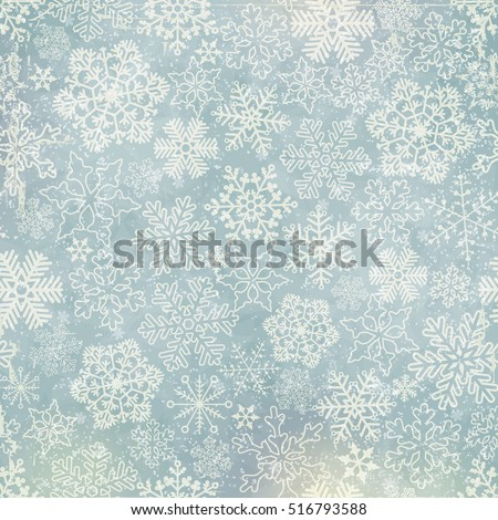 vector snowflakes blue...