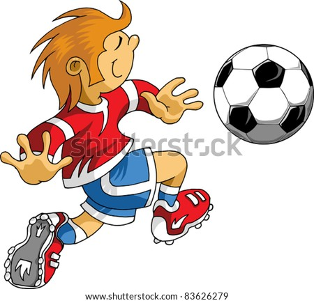 Vector Soccer player design Football Background Vector sport design