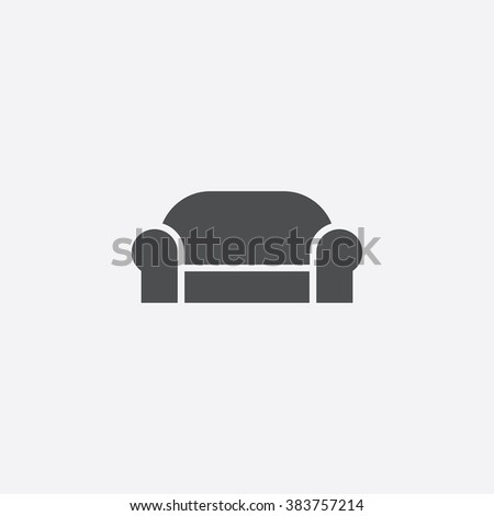 vector sofa icon