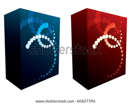 Vector software boxes 60607396 shutterstock Vector image software