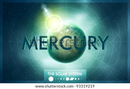 vector solar system   planet
