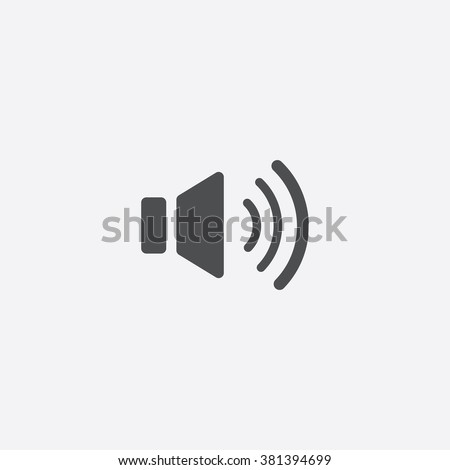 Vector sound control Icon