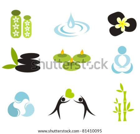 Vector spa icons