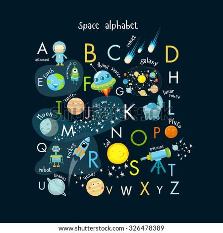stock-vector-vector-space-alphabet