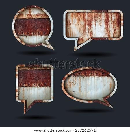 vector speech bubble icons ...
