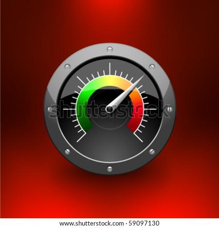 Vector speed-o-meter