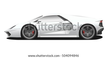 Free Sports Car Vector Download Free Vector Art Stock Graphics