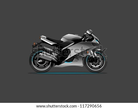 vector sports motorcycle,background,