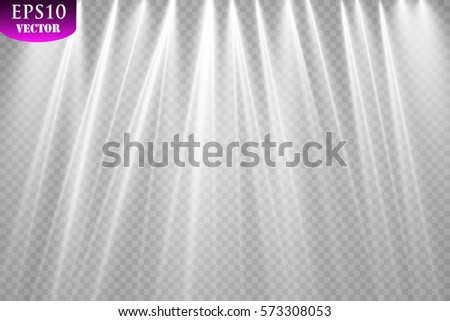vector spotlights scene light