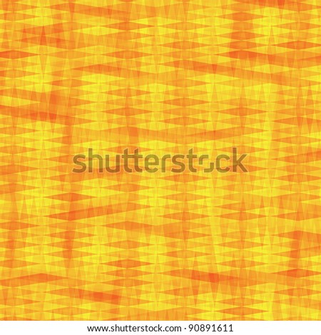 Vector square abstract pattern in warm tones