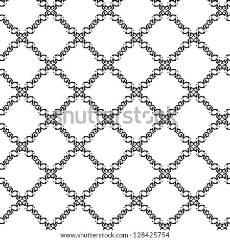 Vector square  design element seamless background