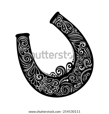 Free download of Lucky Horseshoe vector graphics and