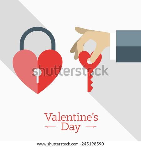 vector st valentine's day