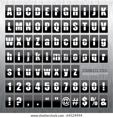 Vector Stainless Steel Mechanical Scoreboard.