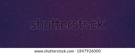 vector starry night background