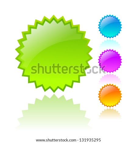 vector stars icons