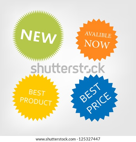 Vector stickers available now,new,best product,best price