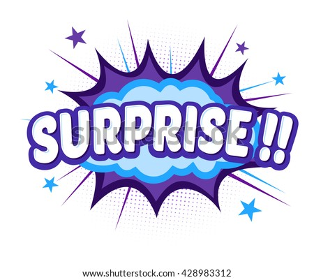Vector stock of comic explosion, bang and boom, surprise word