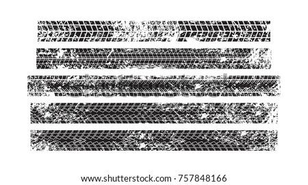vector stock wheel grunge tire